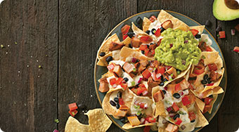 Qdoba Mexican Food in Cincinnati, OH - Kids Meal Cheesey Nachos